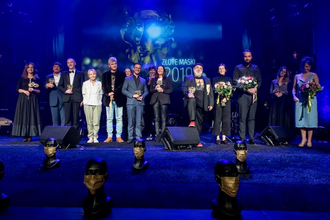 Gala wręczenia nagród artystycznych Marszałka Województwa Śląskiego Złote Maski.