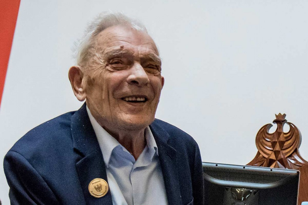 Aleksander Tarnawski w czasie uroczystości w Gmachu Sejmu Śląskiego / fot. arch UMWS Tomasz Żak