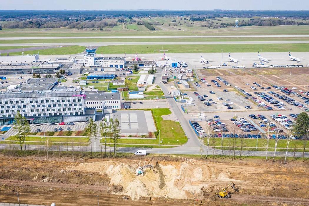 Zdjęcie do wiadomości: Trzeci hangar i kolej na lotnisko w Pyrzowicach