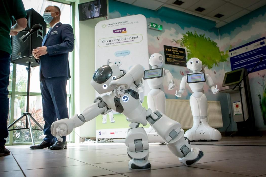 Zdjęcie do wiadomości: Prawdziwe bajki robotów w Centrum Pediatrii w Sosnowcu