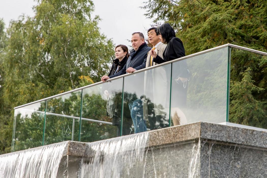 Zdjęcie do wiadomości: Ambasador Japonii z wizytą na Śląsku