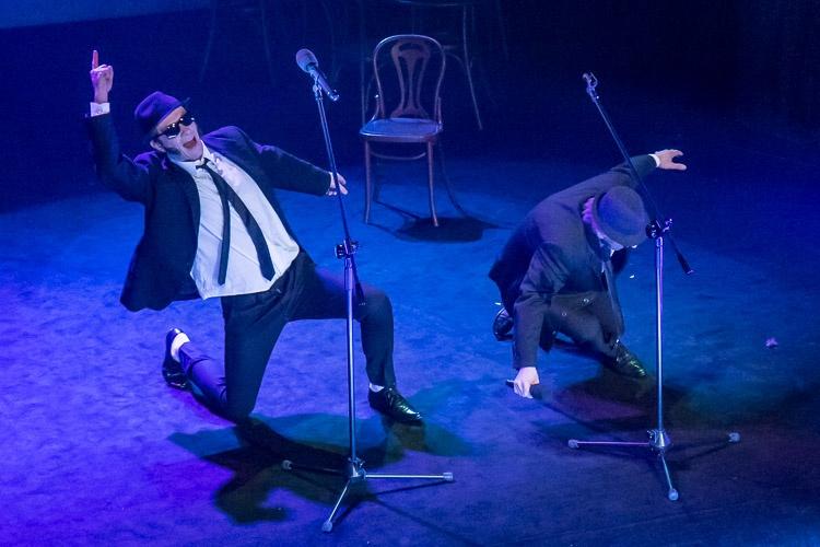 """Spektakl """"Przetańczyć całą noc. Spacer po Broadwayu"""" / fot. BP Tomasz Żak"""