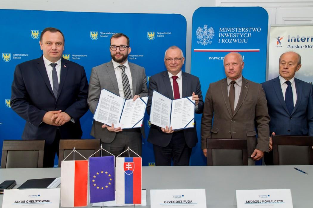 Zdjęcie do wiadomości: Nowe projekty na pograniczu polsko-słowackim