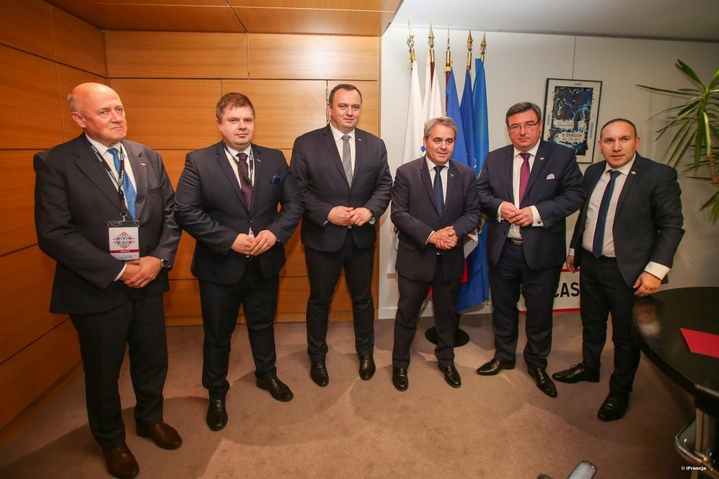 Zdjęcie do wiadomości: Śląskie zacieśnia współpracę z Hauts-de-France