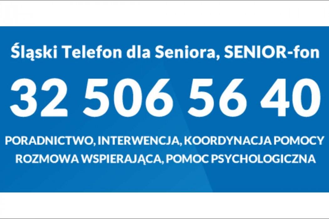 Zdjęcie do wiadomości: Śląski telefon dla seniora