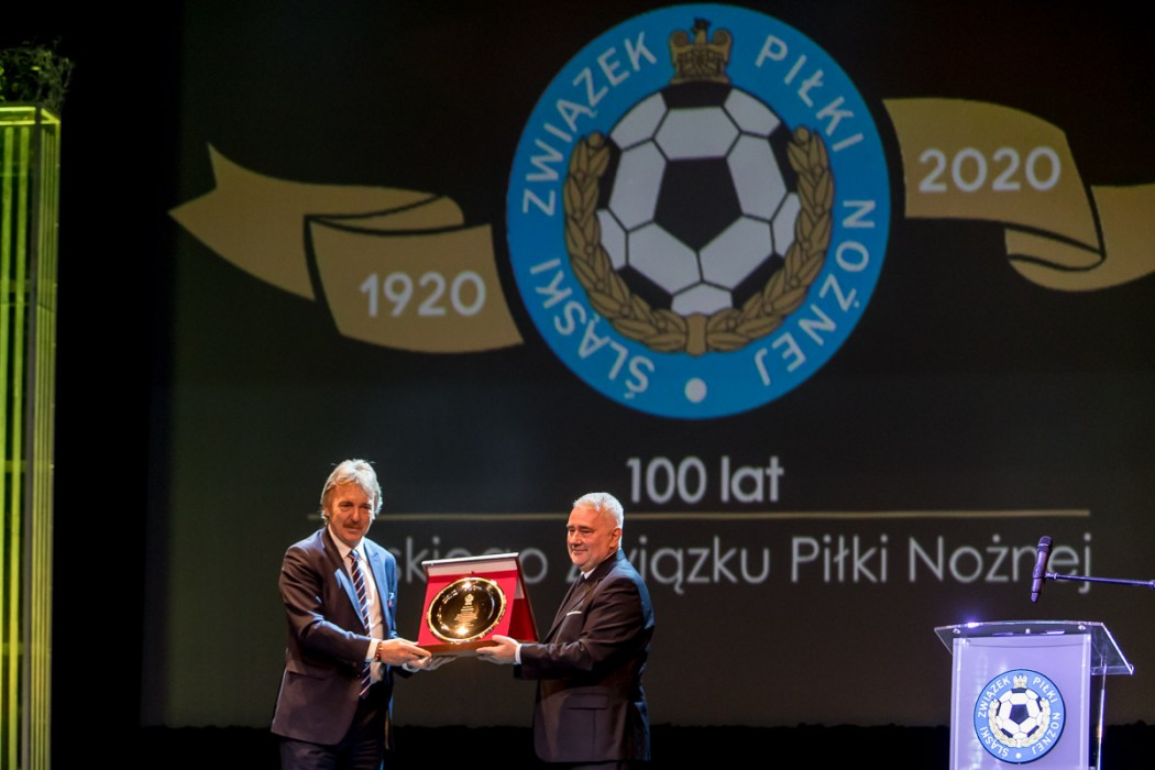 Stulecie Śląskiego Związku Piłki Nożnej. fot. Tomasz Żak / UMWS