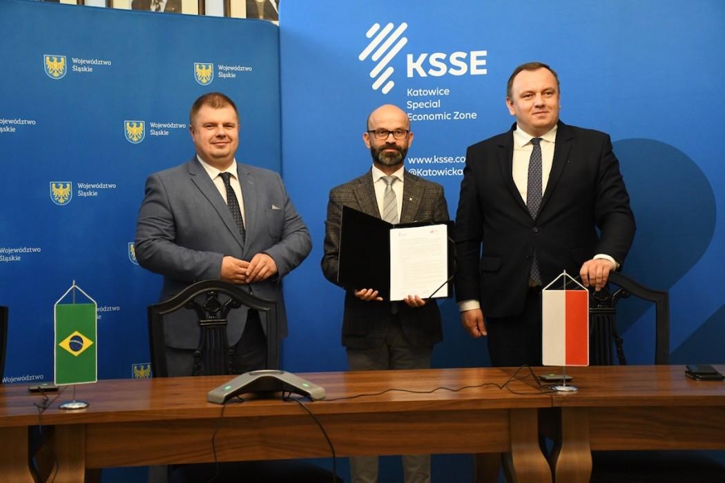 Zdjęcie do wiadomości: KSSE rozpoczyna współpracę z brazylijskim Minas Gerais