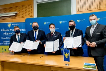 Podpisanie listu intencyjnego w sprawie utworzenia WYŻSZEJ SZKOŁY MEDYCZNEJ W RYBNIKU.