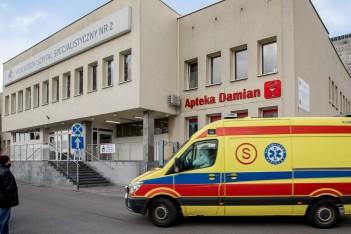 Wojewódzki Szpital Specjalistyczny nr 2 w Jastrzębiu-Zdroju. fot. Tomasz Żak / UMWS