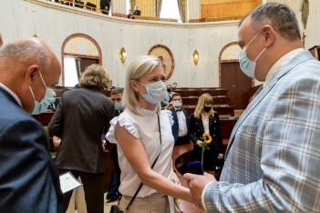 Wyróżnienia dla służby zdrowia za walkę z pandemią