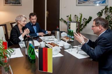 Wizyta Ministra Pełnomocnego Ambasady Niemiec