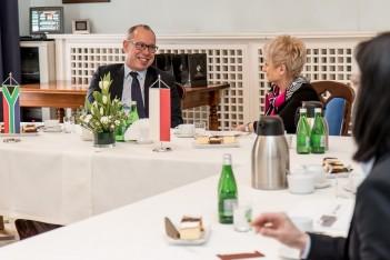 Wizyta dyplomatów z RPA
