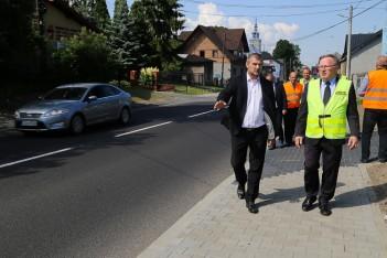 Ogrodzieniec: nowy odcinek Drogi Wojewódzkiej 790 po remoncie