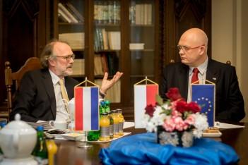 Wizyta ambasadora Królestwa Niderlandów