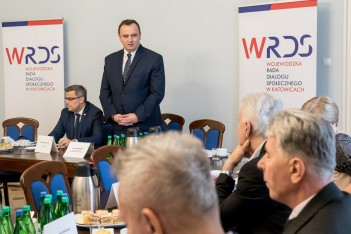 Posiedzenie prezydium WRDS z nowym przewodniczącym