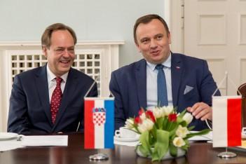 Spotkanie z ambasadorem Chorwacji