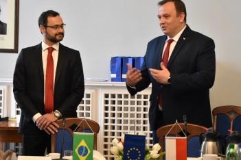 Wizyta delegacji z Brazylii
