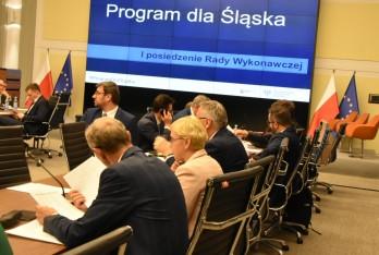 I Posiedzenie Rady Wykonawczej Programu dla Śląska