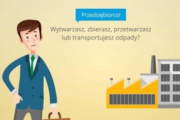 Informacja dla przedsiębiorców dotycząca odpadów
