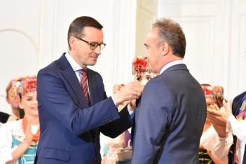 """Wyróżnienie dla  dyrektora  """"Śląska"""""""