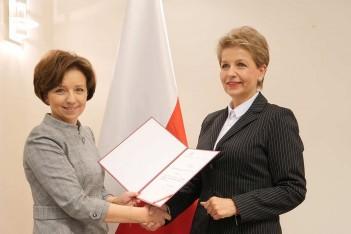 Alina Nowak podsekretarzem stanu w Ministerstwie Rodziny, Pracy i Polityki Społecznej