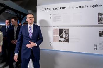 Premier RP gościł w Muzeum Powstań Śląskich