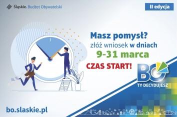Rusza nabór wniosków w II edycji Marszałkowskiego Budżetu Obywatelskiego