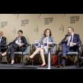 Panel Sprawiedliwa transformacja – inwestycje, rewitalizacja, finansowanie. fot. Tomasz Żak / UMWS