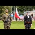 Uuroczystości na Skwerze Stulecia Powstań Śląskich w Parku Śląskim. fot. Tomasz Żak / UMWS