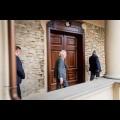 Wizyta dra Stephana Holthoffa-Pförtnera, Ministra do spraw federalnych, europejskich imiędzynarodowych Nadrenii Północnej-Westfalii. fot. Tomasz Żak / UMWS