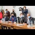 Spotkanie w sprawie Drogi Wojewódzkiej 921. fot. Tomasz Żak / UMWS