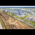Budowa kolei na lotnisko w Pyrzowicach. fot. GTL