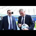 Zwiedzanie Stadionu Śląskiego. fot. Patryk Pyrlik / UMWS