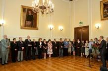 Uroczystośc odbyła się neogotyckim gmachu Muzeum Górnośląskiego w Bytomiu w odrestaurowanej Sali Gorczyckiego
