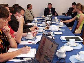 Spotkanie z marszałkiem Województwa Śląskiego