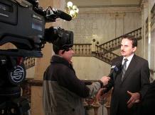 Przewodniczący Samorządowego Kraju Żylińskiego Josef Tarčák - wywiad dla TVP