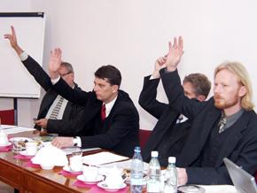Głosowanie podczas Walnego Zgromadzenia
