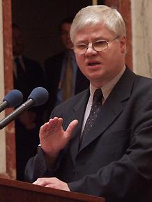 Wiceprezes Rady Ministrów, Minister Gospodarki, Pracy i Polityki Społecznej Jerzy Hausner