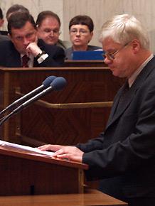 Debata nt. górnictwa podczas XII Sesji Sejmiku Województwa Śląskiego