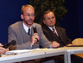 Przewodniczący RAŚ Jerzy Gorzelik
