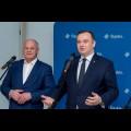 Podpisanie umowy w sprawie rozbudowy instalacji fermentacji na terenie MZKZOK w Tychach / fot. BP UMWS Tomasz Żak