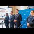 """Podsumowanie akcji """"Kolej na ferie"""" / fot. Tomasz Żak BP UMWS"""