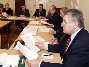 Na pierwszym planie członek Zarządu Województwa Śląskiego Marian Jarosz
