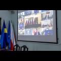 Marszałek Jakub Chełstowski uczestniczył w wideokonferencji z udziałem premiera RP Mateusza Morawieckiego  / fot. Tomasz Żak UMWS